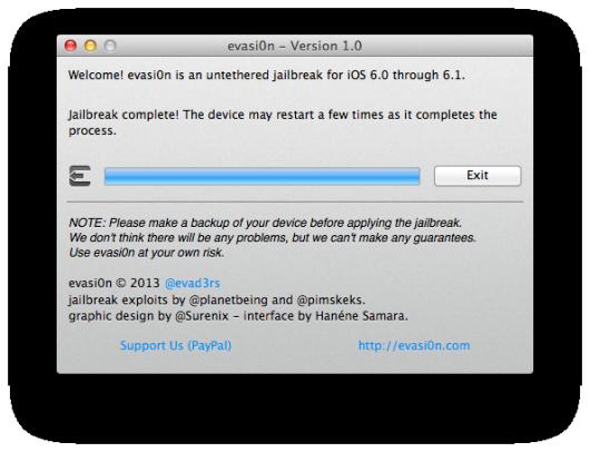 Как сделать джейлбрейк ios 616 для ipod 4